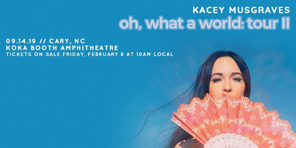 More Info for Kacey Musgraves' Oh, What a World: Tour II