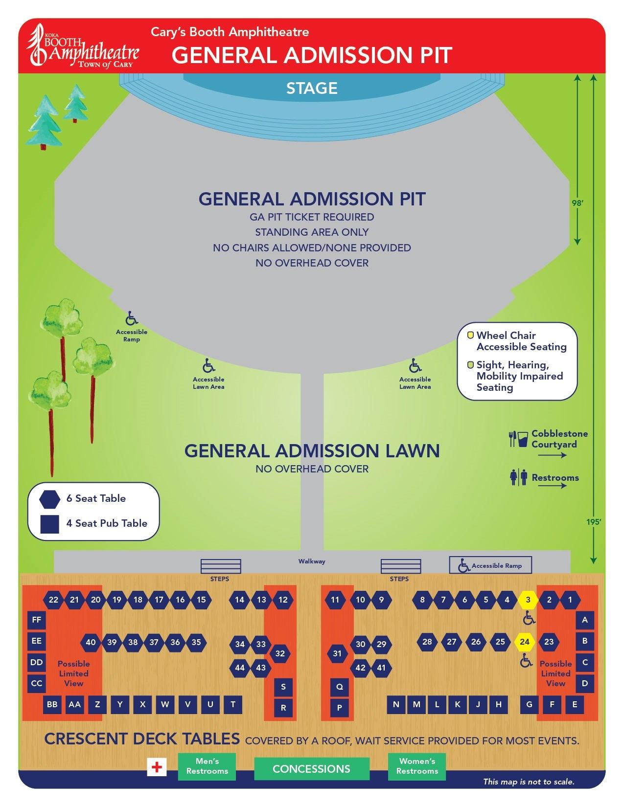 General Admission Pit Concert