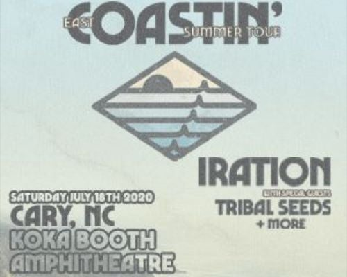 More Info for Iration with special guests Tribal Seeds