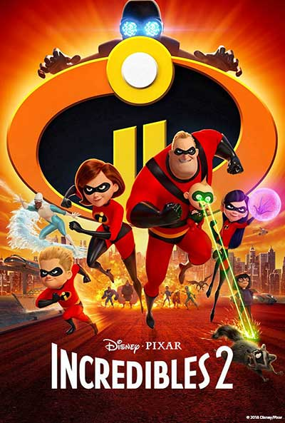 More Info for Incredibles 2 (PG)