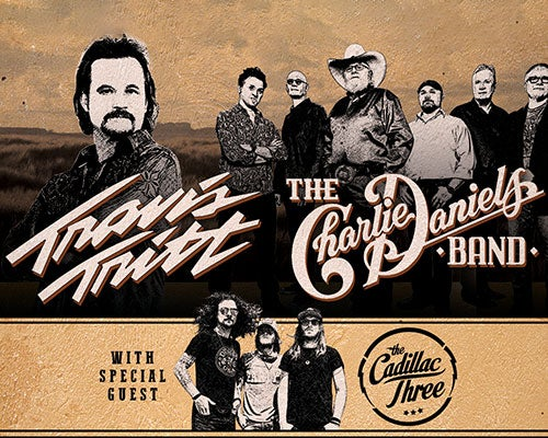 More Info for Outlaws & Renegades Tour: Travis Tritt, The Charlie Daniels Band with Special Guest  The Cadillac Three