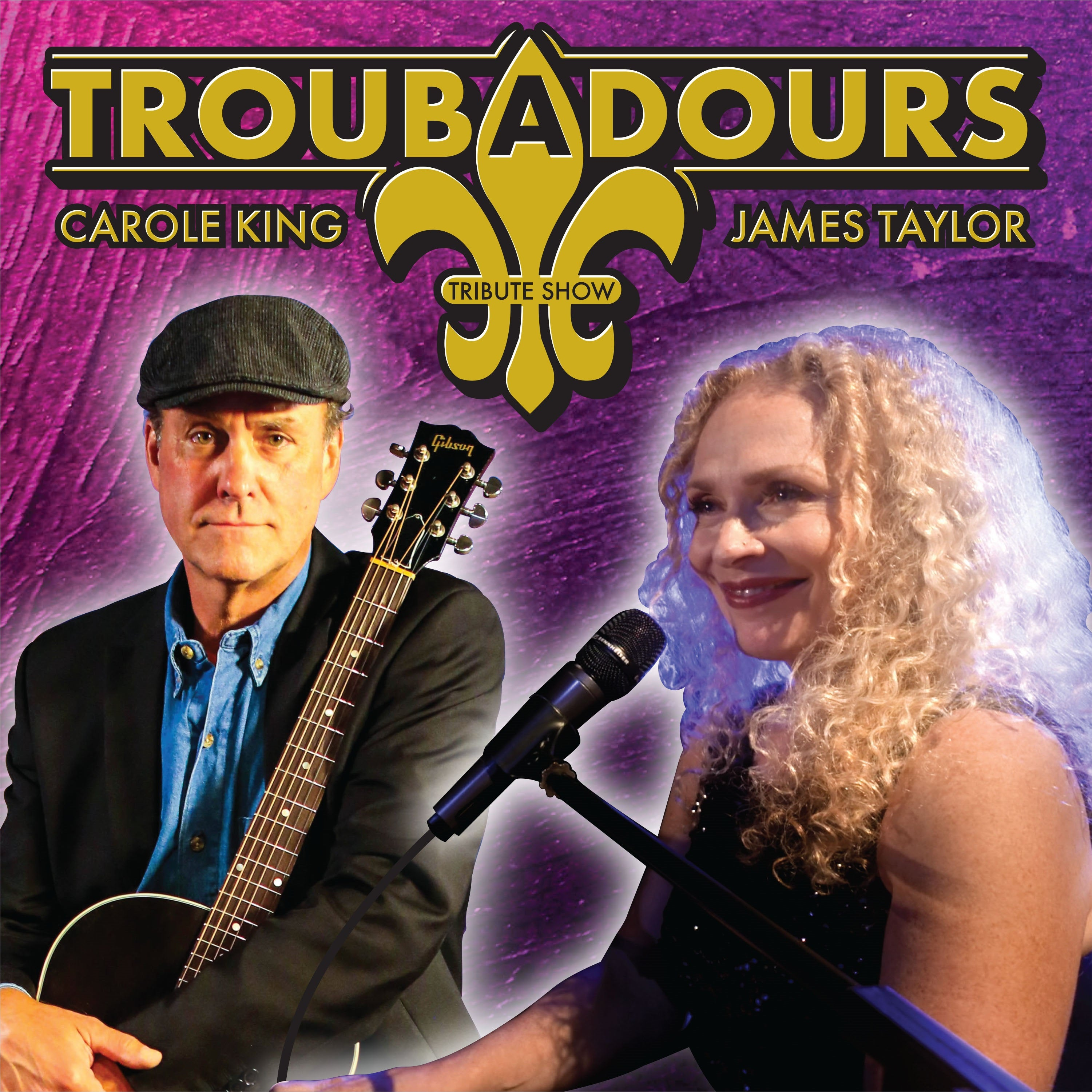 Troubadours Tribute to James Taylor and Carole King