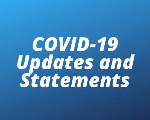 More Info for COVID-19 Updates & Statements