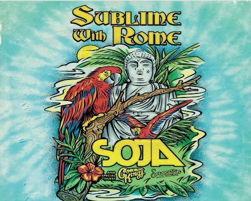 More Info for Sublime with Rome, SOJA & Special Guests Common Kings, Seranation