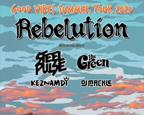 More Info for Rebelution, Steel Pulse + The Green